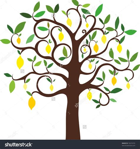 arts clipart 42 lemon tree clip