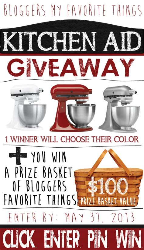 Giveaway Kitchen - kitchen aid mixer giveaway smart school house