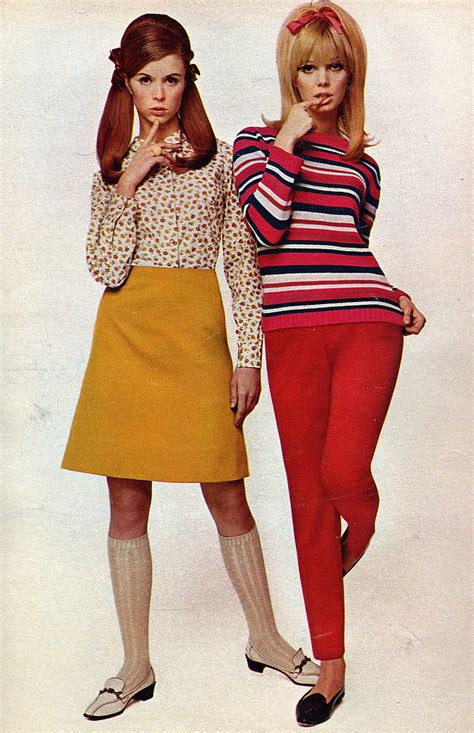 60s Style by 60s Fashion From Seventeen Magazine 1967 Simon