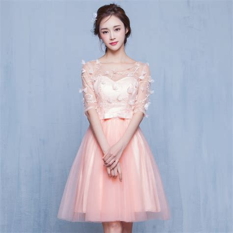 Dress Korea Pink By Griyaaglie popular korean style prom dress buy cheap korean style
