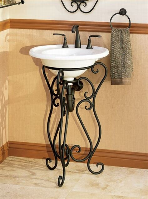 Wrought Iron Bathroom Furniture Wrought Iron Bathroom Vanity Bathrooms Pinterest Wrought Iron Bathroom Vanities And Vanities