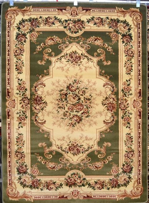 Green Area Rug 8x10 Green Burgundy 8x10 Area Rugs Carpet Floral New 2857 Ebay