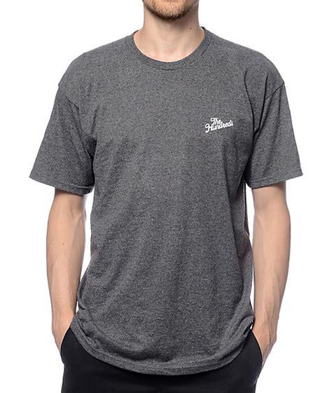 Gray T Shirt U261 the hundreds slant crest grey t shirt