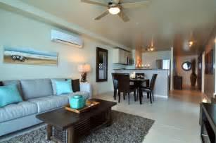 beachfront condo design tropical living room toronto
