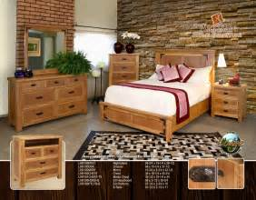 Lodge Bedroom Furniture Lhr 100 Lodge Bedroom By Artisan Furniture