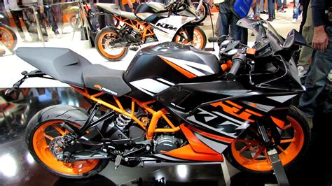 Ktm Duke Rc 125 Price In India 2014 Ktm Rc 125 Walkaround 2013 Eicma Milan Motorcycle