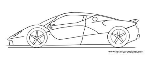 How To Draw A Mclaren P1 Easy