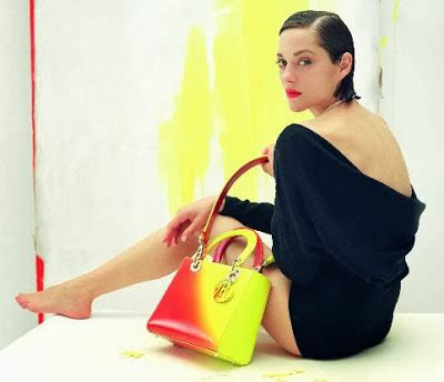 Diors Handbags For 2008s Resort Collection Fail To by Fashionista Smile Christian Marion Cotillard And
