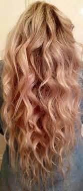 long hair body wave perm ondulados
