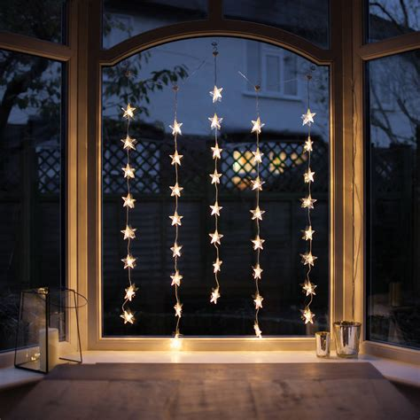 Weihnachtsdeko Fenster Lichter by Window Curtain Light By Lights4fun