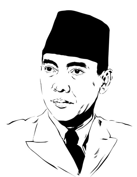 soekarno by astayoga on deviantart