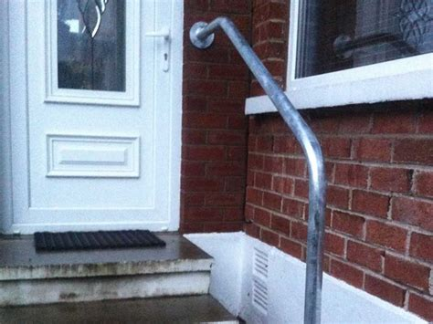 Handrails For Outdoor Steps Uk handrails for stairs northern ireland bam fabrications