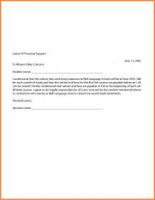 proof of financial support letter template 9 letter of financial support from parent company