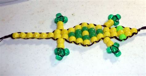 beaded lizard craft make a beaded lizard lizards craft and