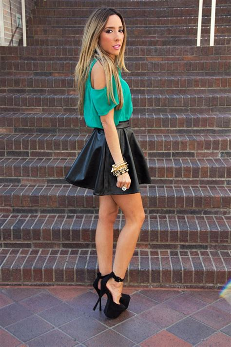 lovely ways to wear a skirt glam radar