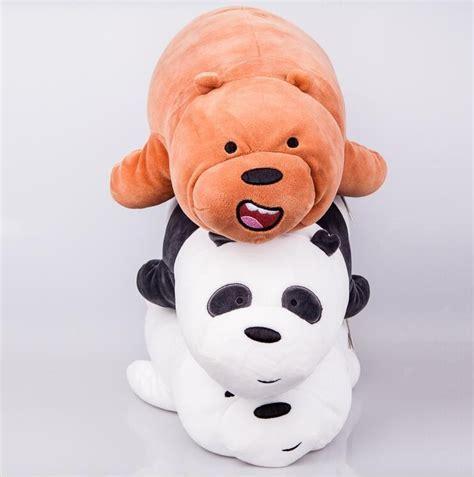 Doll 3d We Bare Bears miniso we bare bears panda grizzy soft baizi