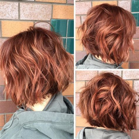 hairstyles for thick red hair 38 super cute ways to curl your bob popular haircuts for