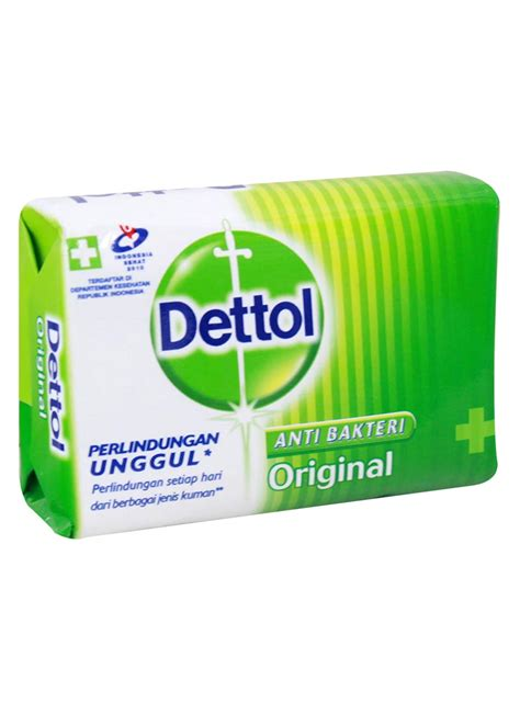Dettol Sabun Mandi Batang 105g dettol sabun mandi anti bakteri original bar 105g