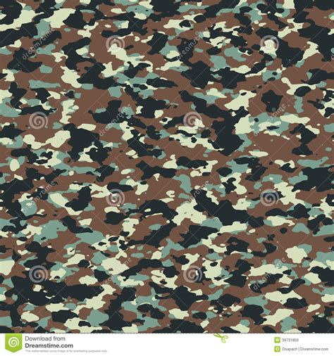 texture pattern forest autumn forest woodland seamless camo pattern stock vector