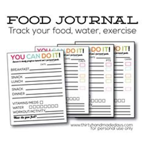 printable food journal eating disorder cute printable food journal pages fitness pinterest