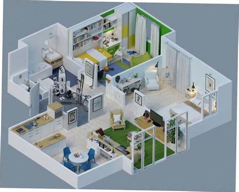 denah rumah sederhana      kamar tidur  tipe