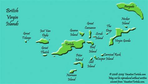 british virgin islands map location island british virgin islands