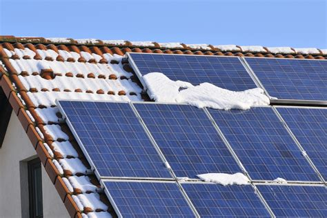 solar curtains winter solar panel maintenance tips ecomark solar