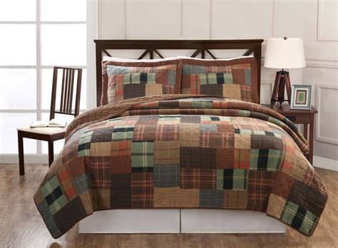 Masculine bed comforters with retro masculine bedding quilts ideas popular home interior decoration