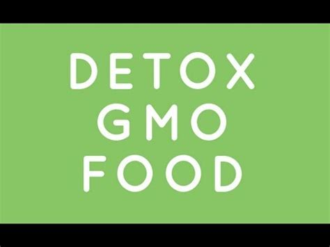 Bt Detox by Detox From Bt Toxin Found In Gmo Food
