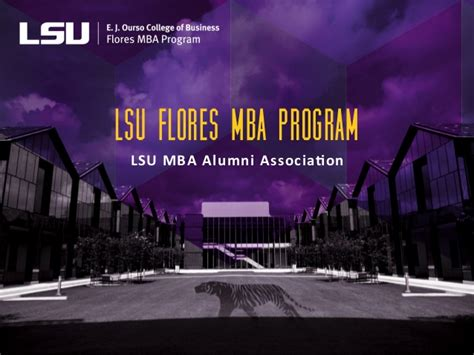 Mba Alumni by Lsu Mba Alumni Association
