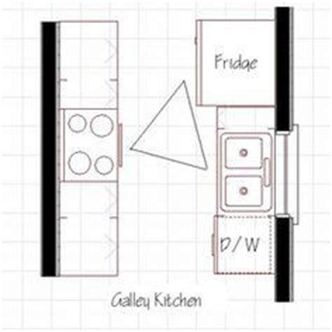 galley kitchen design layout 1000 ideas about galley kitchen redo on pinterest