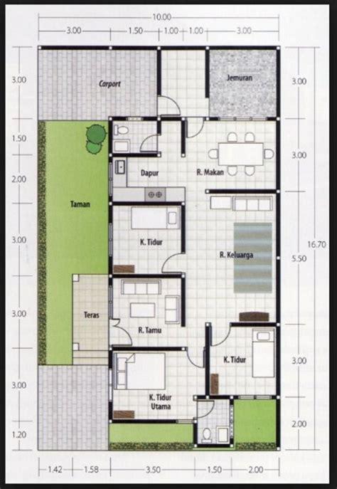 desain rumah ukuran 8x15 1 lantai 69 desain rumah minimalis ukuran 6x11 desain rumah