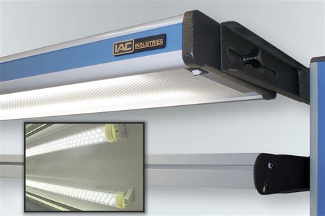 work bench lights iac industries introduces led workstation adjustable
