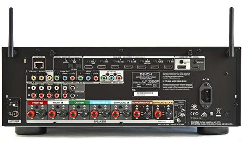 Denon Avr X2300w A V Receiver test denon avr x2300w dolby atmos unter 700 lowbeats