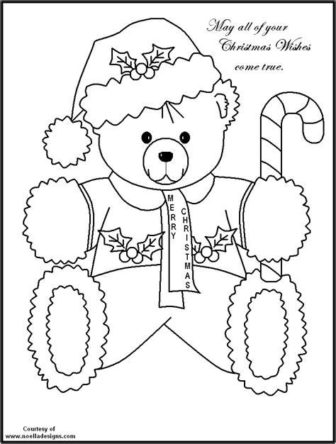 santa bear coloring page christmas bear coloring page az coloring pages santa bear