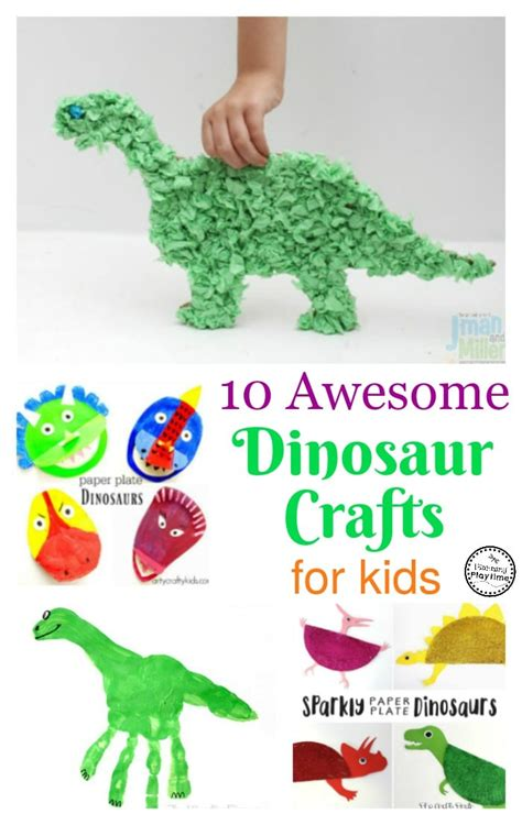 awesome crafts 10 awesome dinosaur crafts for planning playtime