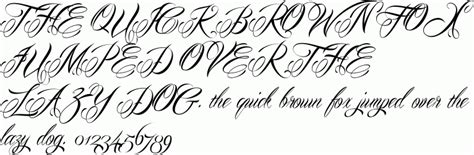 tattoo fonts preview mardian free font