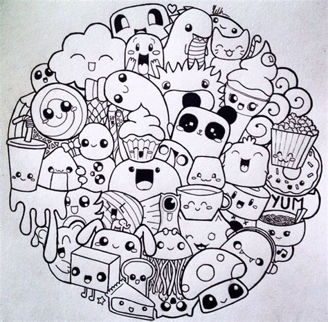 doodle your circle doodle of doodles for days