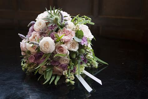 wedding bouquet lilac willow and thyme wedding florist