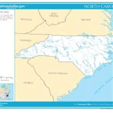 map of carolina rivers and creeks us map carolina rivers and streams