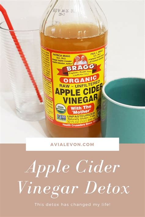 Apple Cider And Vinegar Detox by The Best Apple Cider Vinegar Detox That Will Change Your