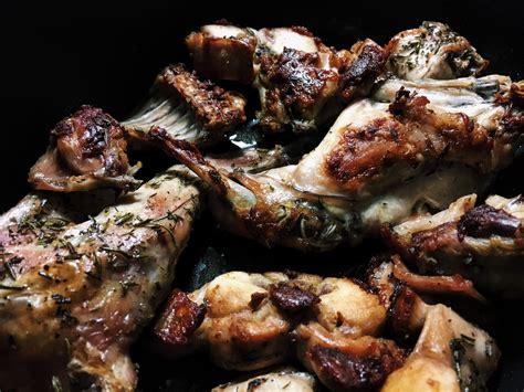cucinare il coniglio a pezzi coniglio arrosto gourmama