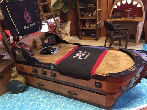pirate ship beds fun and playful furniture ideas for kids bedrooms
