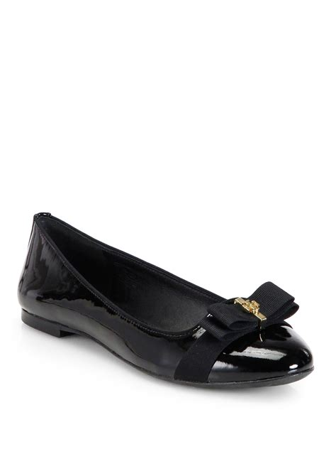 New Arrival Burch Vara Ballerina Flats lyst burch trudy patent leather ballet flats in black