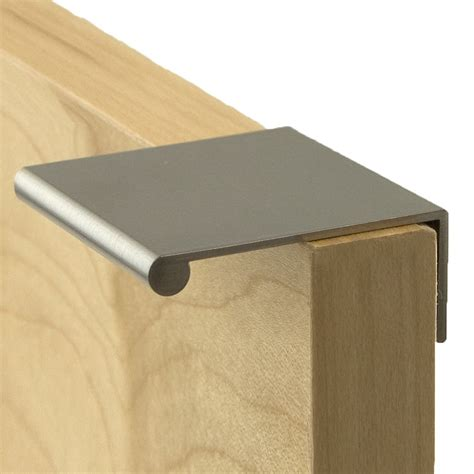 Pull For Cabinets by Berenson Hardware Bravo Finger Pull Atg Stores