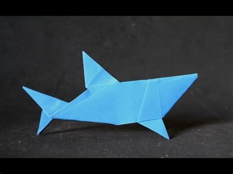 Easy Origami Shark - origami simple shark mr yukihiko matsuno