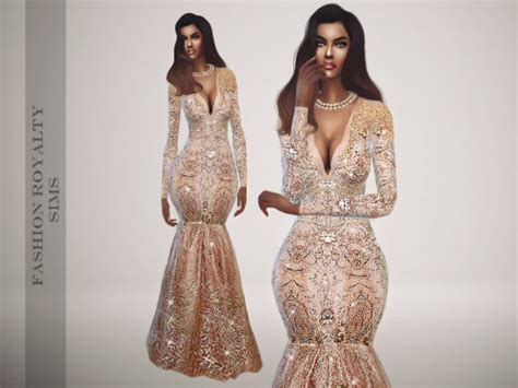 sims 4 royalty dresses marchesa resort 2016 royalty gown at fashion royalty sims