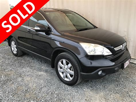 Honda Crv 1 Automatic automatic 4x4 suv honda cr v 2007 black used vehicle sales