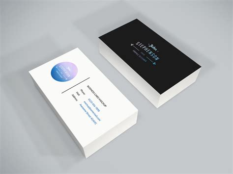 name card design mockup freebie business card psd mockup by graphberry on deviantart
