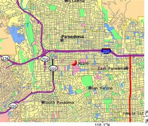 zip code map pasadena ca 91106 zip code pasadena california profile homes